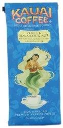 Kauai Coffee Vanilla Macadamia Nut Ground
