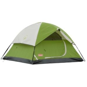 Coleman four person tent