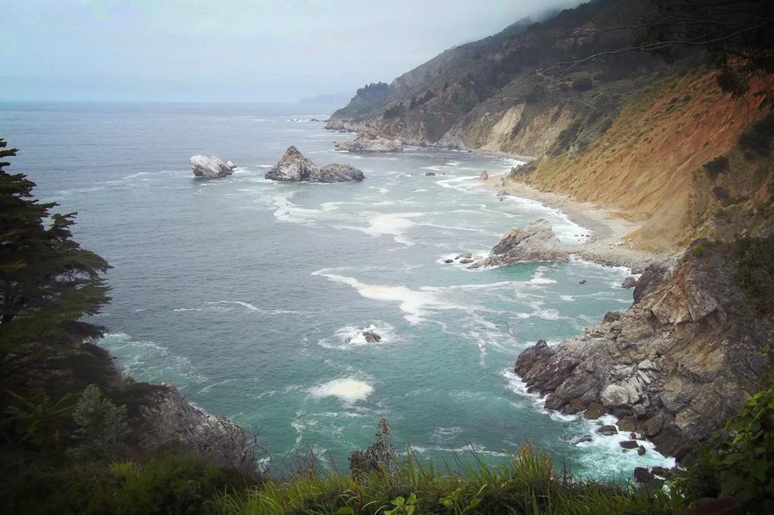 Jade Cove bay