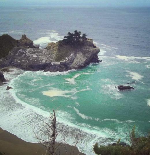 Camping in Big Sur, California