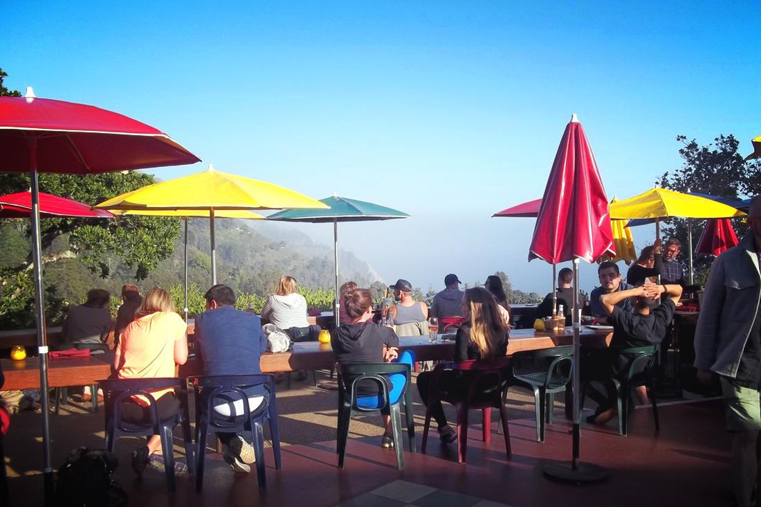 Nepenthe Restaurant View
