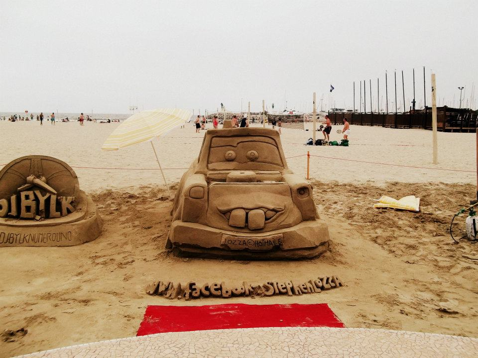 Palavas-les-Flots Sand Art