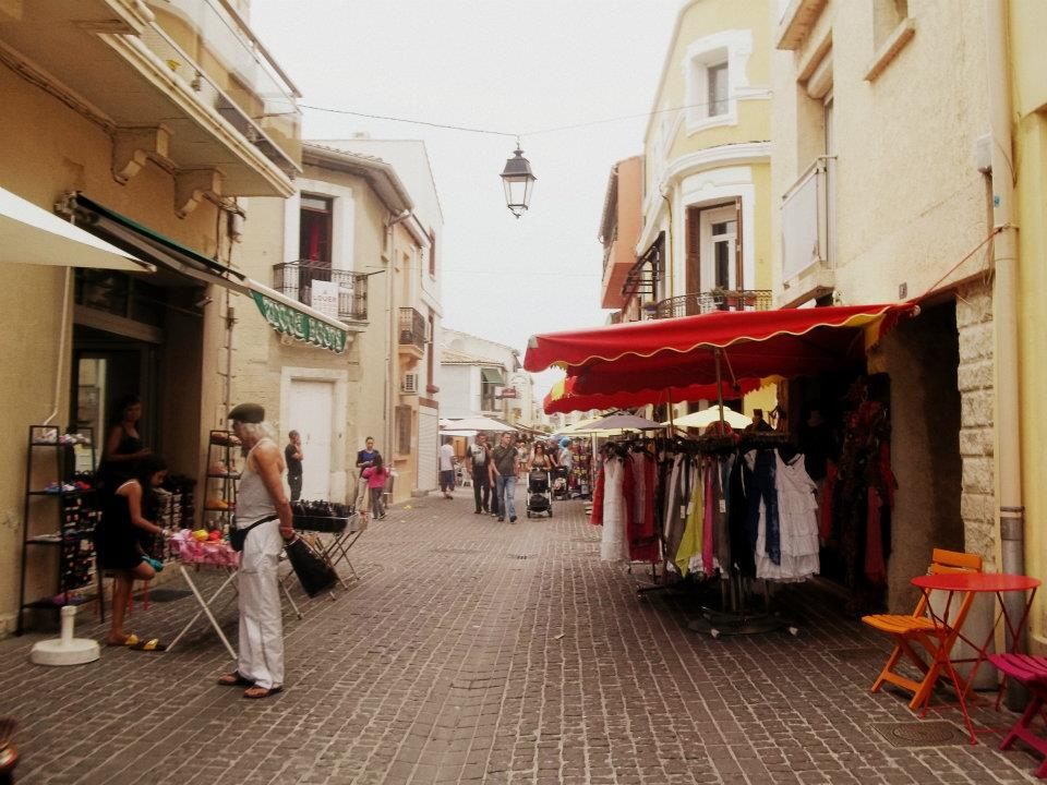 Palavas-les-Flots Street