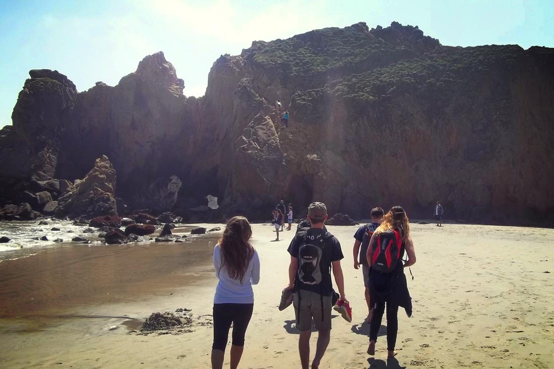 Pfeiffer Beach Cliff