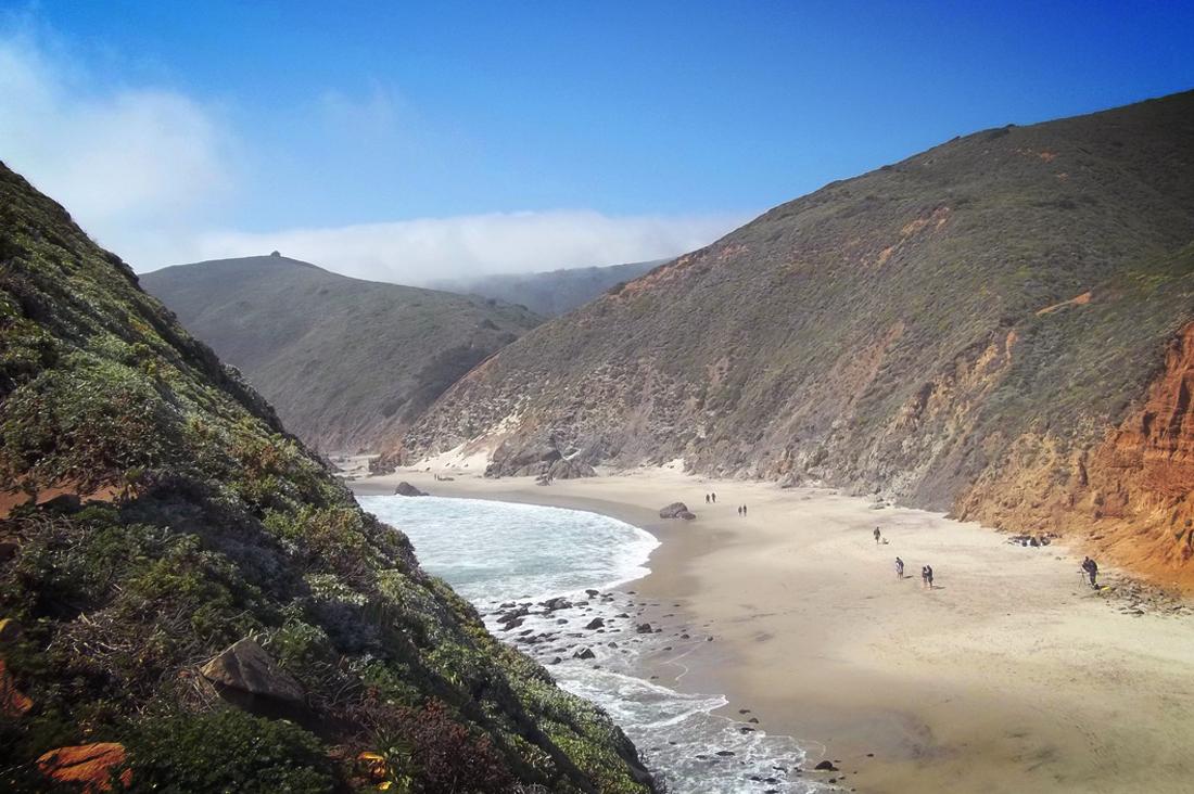 Top of Pfeiffer Beach Cliff