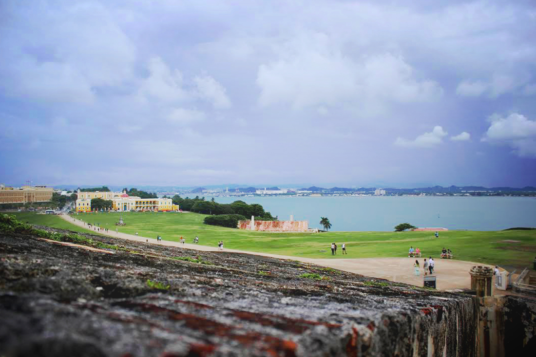 Castillo San Cristobal water view