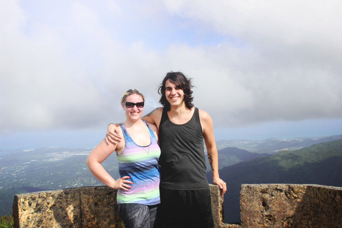 El Yunque rainforest peak hike
