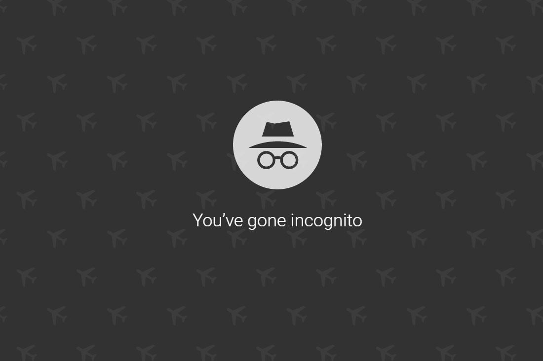 Incognito Mode Airline Hack