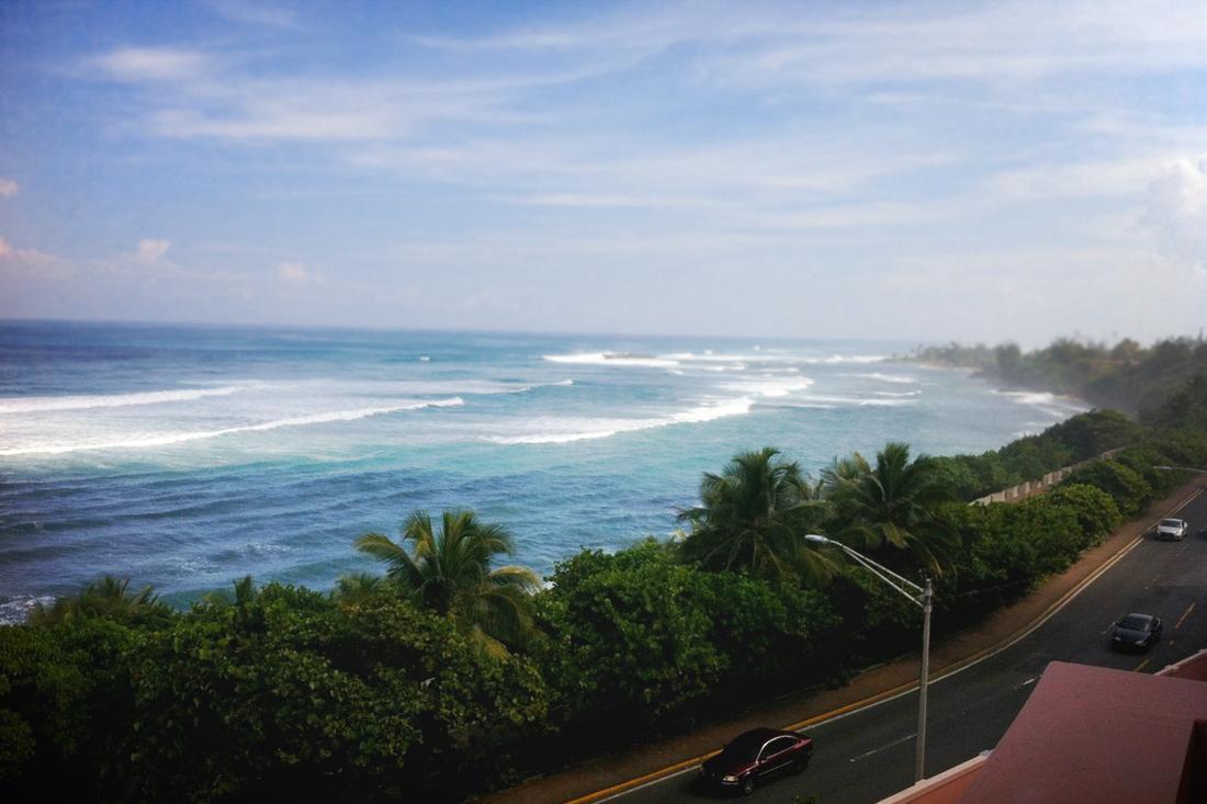 San Juan beach view