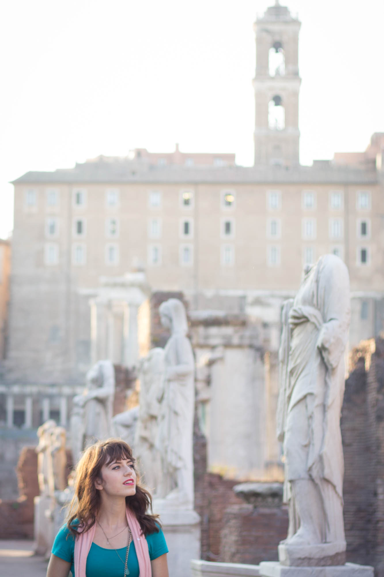 Roman Forum and Paletine Hill in Rome, Italy