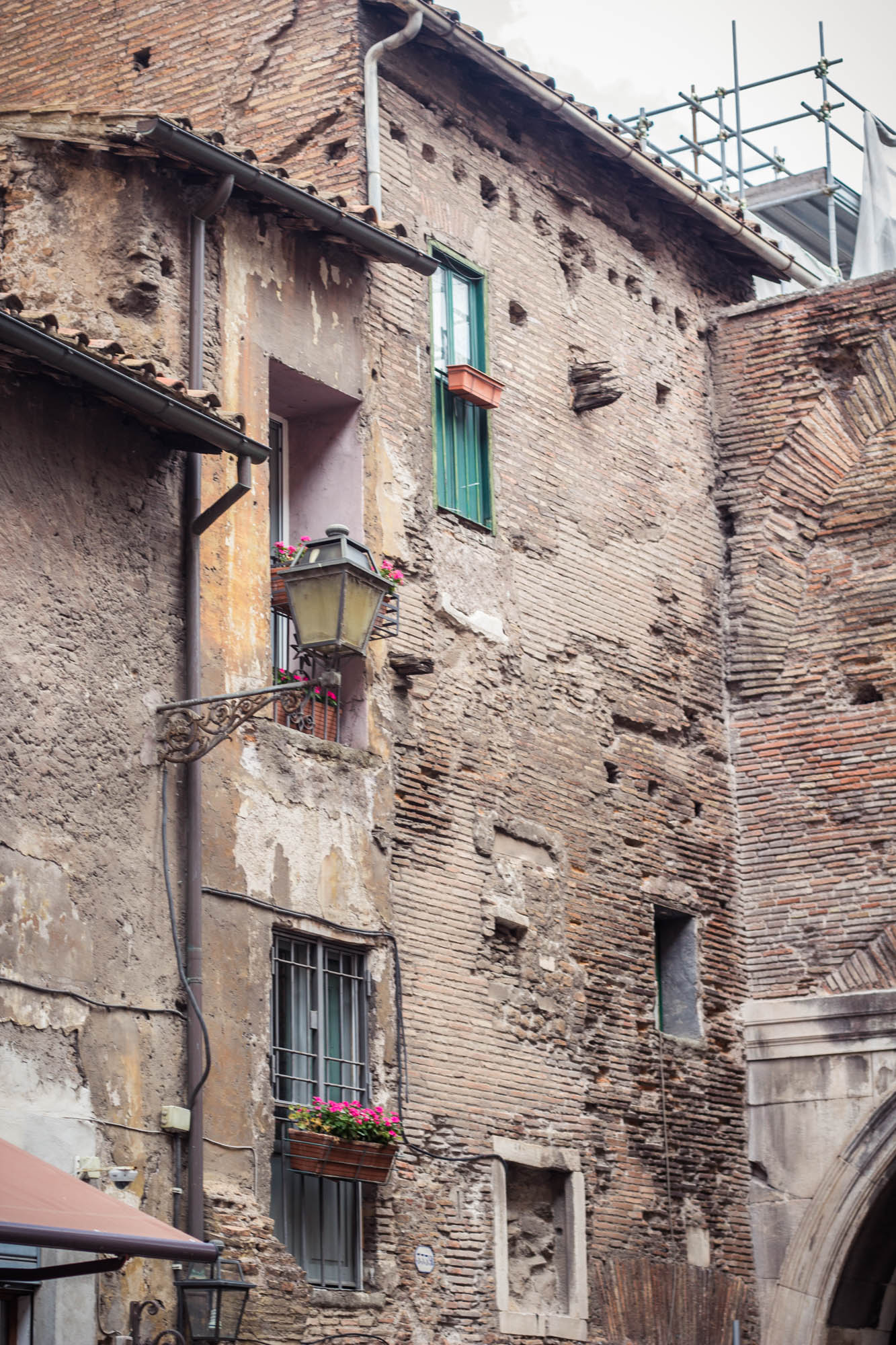 Jewish Ghetto in Rome, Italy