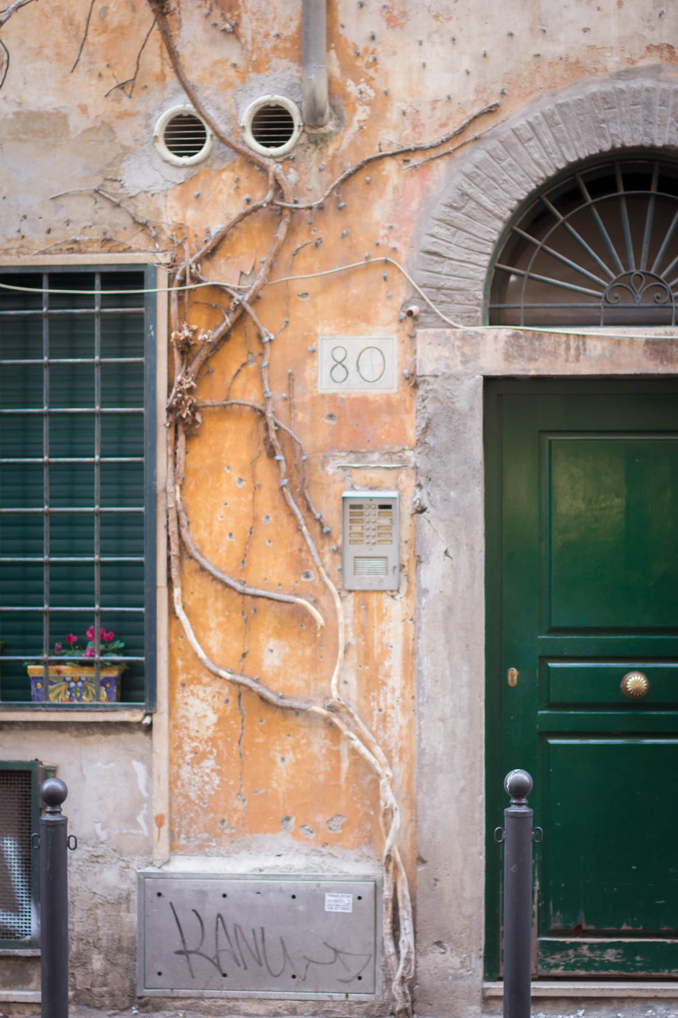 Streets in Rome, Italy