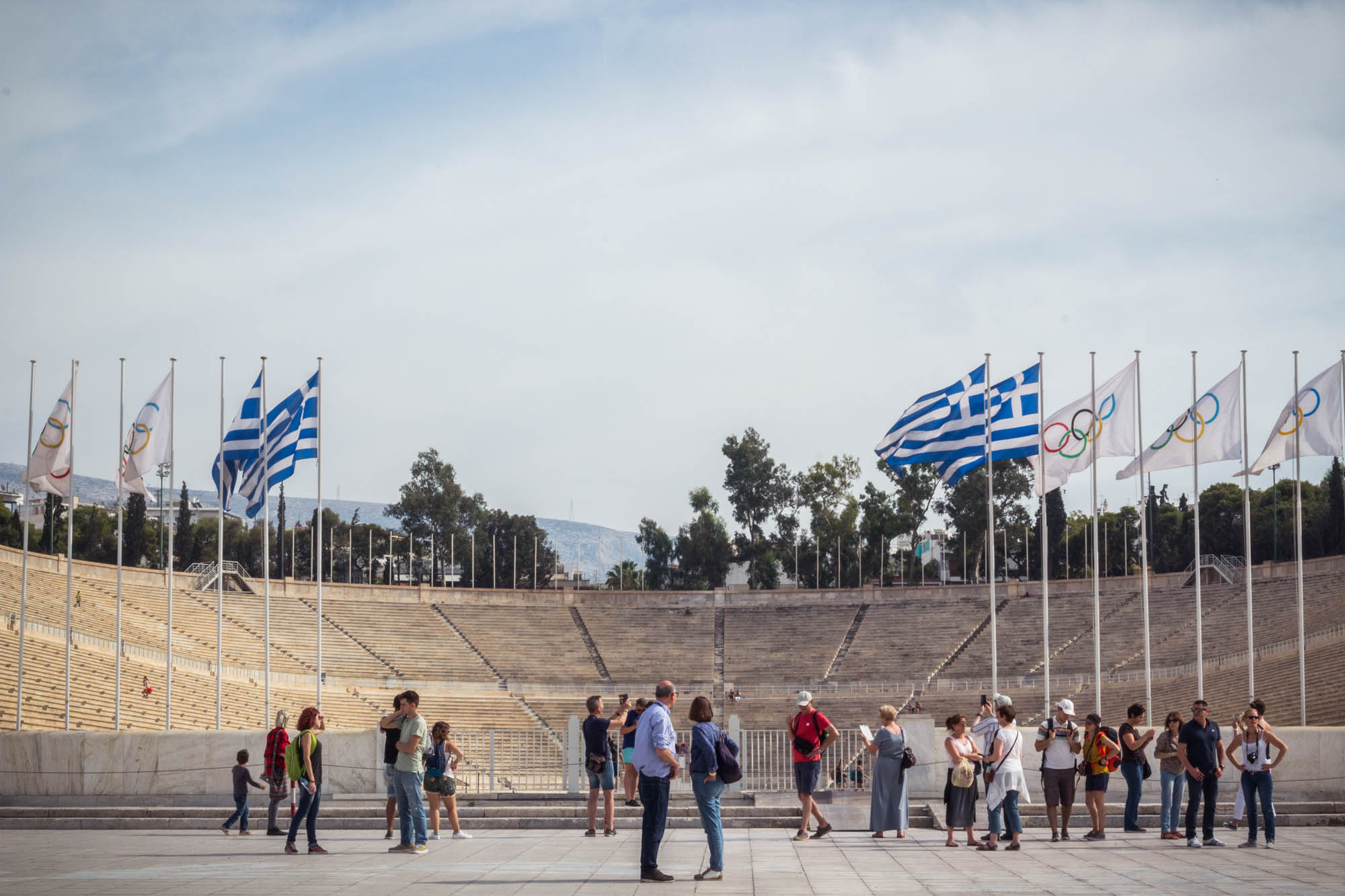 Panathenaic Stadium in Athens, Greece