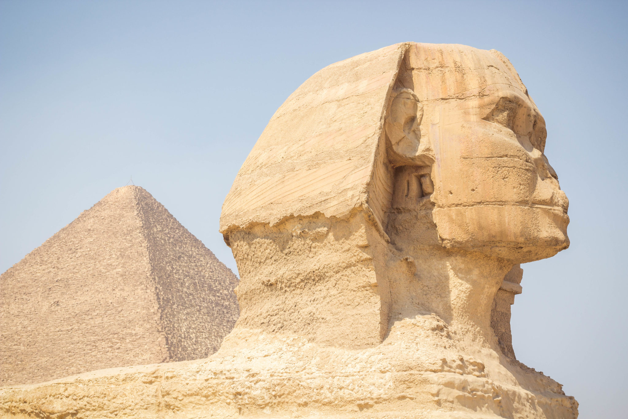 Sphinx in Giza, Egypt