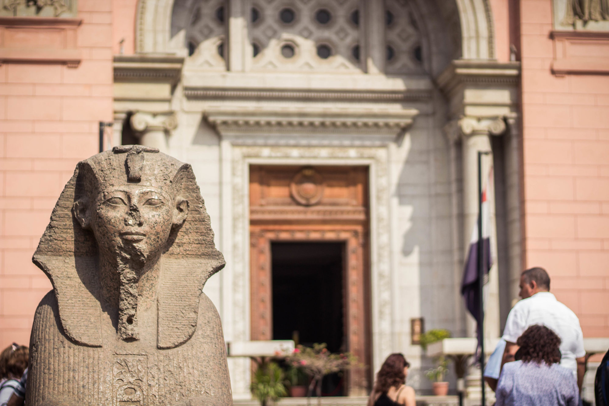 The Egyptian Museum in Cairo, Egypt