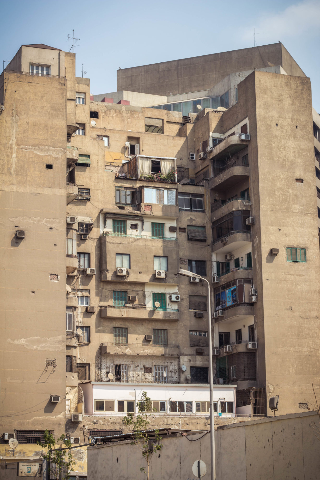 The streets of Cairo, Egypt