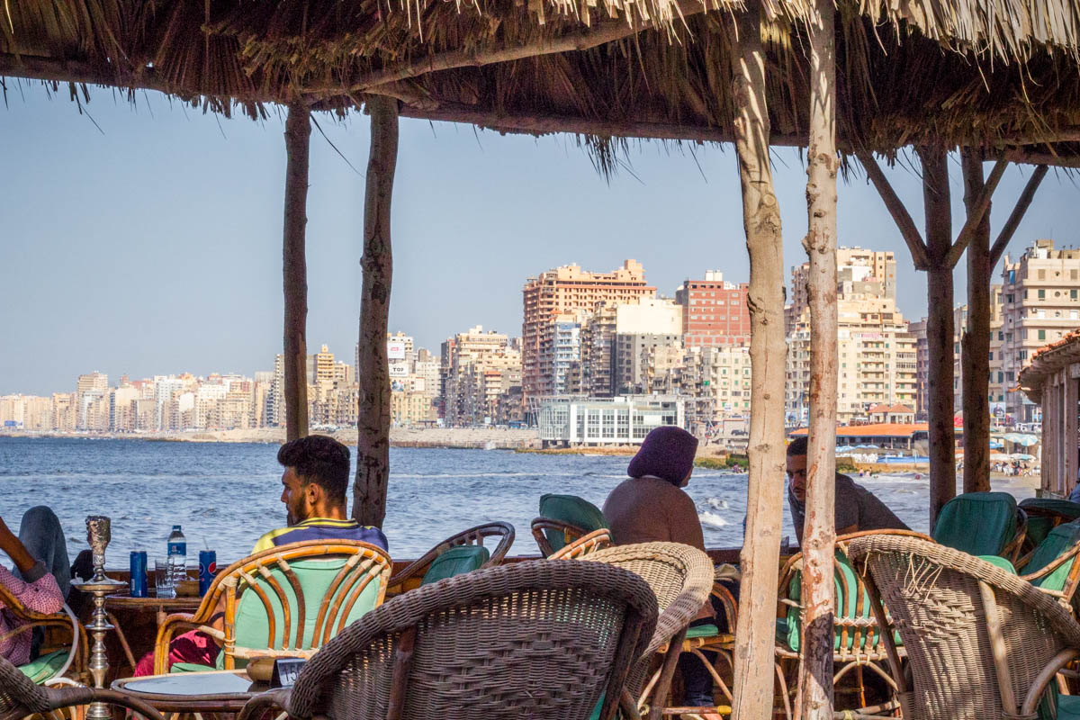 Selsela Cafe in Alexandria, Egypt