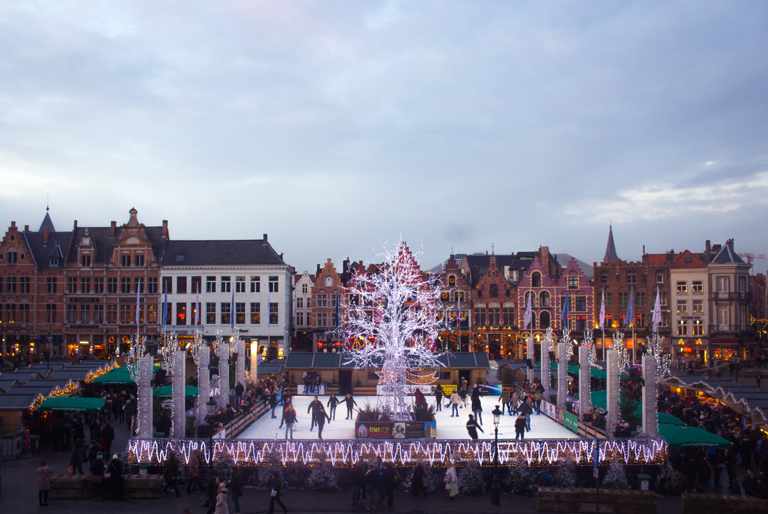 The Markt of Bruges Belgium