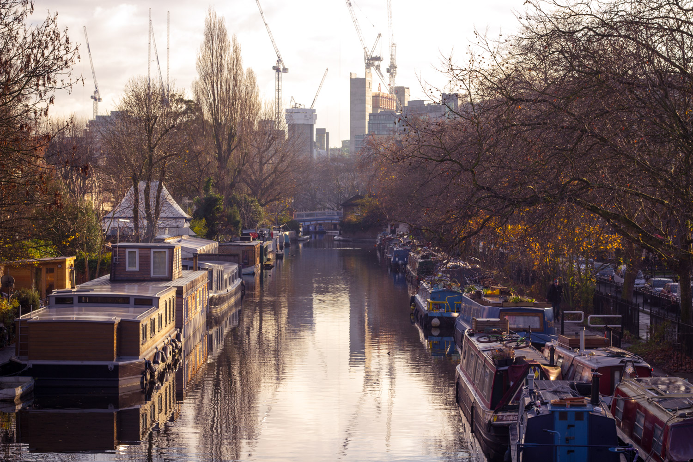 Little Venice at sunrise in London