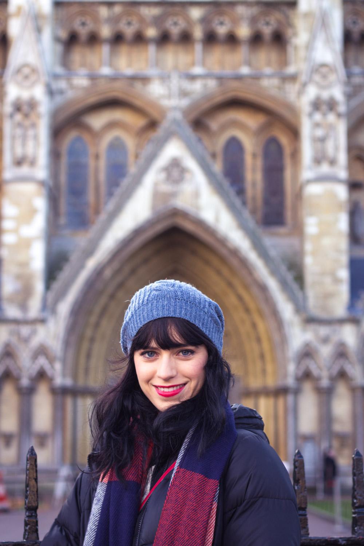 Westminster Cathedral door in London